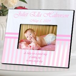 Personalized Name Baby Picture Frame