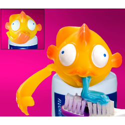 Toothpaste Bottle Fish