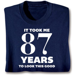 Personalized This Many Years T-Shirt