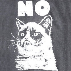 Grumpy Cat NO T-Shirt