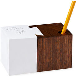 Dovetail Desktop Pad and Pencil Cup