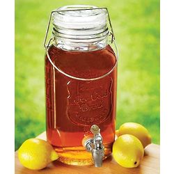 Gallon Mason Jar Drink Dispenser
