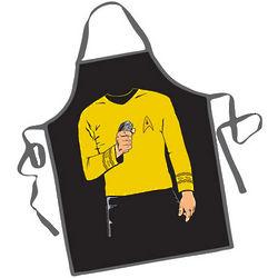 Star Trek Captain Kirk BBQ Apron