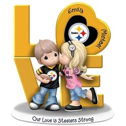 NFL Team Personalized Precious Moments Figurine