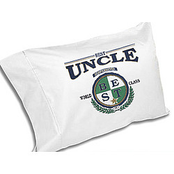 World's Best Uncle Pillowcase