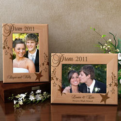 Personalized Prom Wooden Picture Frame