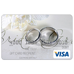Wedding Rings Visa Gift Card