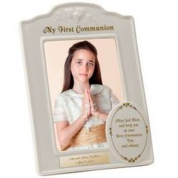 First Communion Porcelain Photo Frame