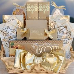 Golden Splendor Gift Basket