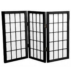 Desktop Window Pane Three Panel Shoji Screen