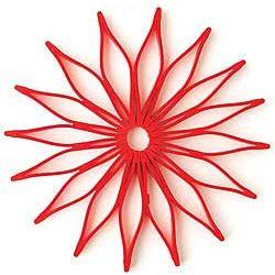 Red Blossom Trivet