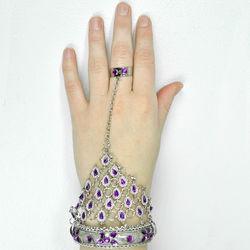 Silver Harem Slave Bracelet