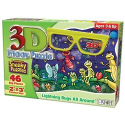Lightning Bugs Puzzle with 3D Glasses