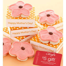 Mother's Day Cookie Greeting and $5 Gift Card