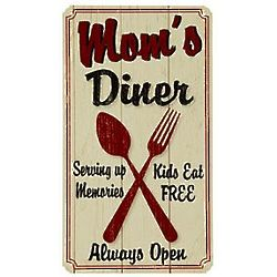 Personalized Country Diner Metal Sign