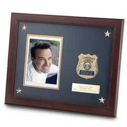Police Medallion Picture Frame