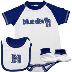 Duke Blue Devils Infant Unisex Creeper Set