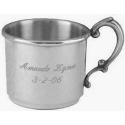 English Pewter Baby Cup