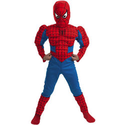 Child Deluxe Spiderman Muscle Chest Costume