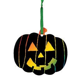 Magic Color Scratch Pumpkin Ornaments Kit