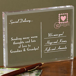 A Special Delivery Personalized Postcard