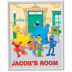 Sesame Street Personalized Gang Canvas