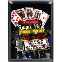 Personalized Poker Night Sign