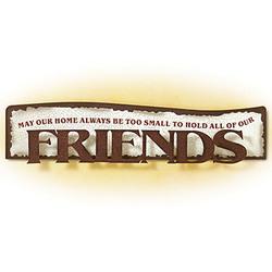 Friends Dimensional Art Plaque