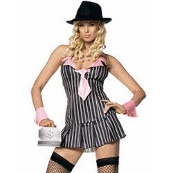 Sexy Miss Mafia Costume