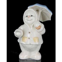 Lenox Spring Showers Snowman Figurine