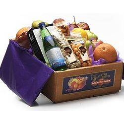 California Classic Fruit and Sparkling Water Gift Crate