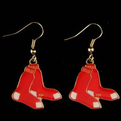 Boston Red Sox Team Dangle Earrings
