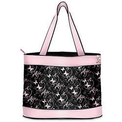 Hope Takes Flight Breast Cancer Awareness Support Tote