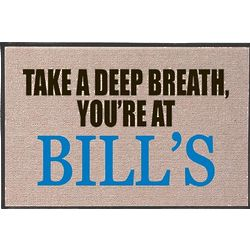 You're at Bill's Door Mat