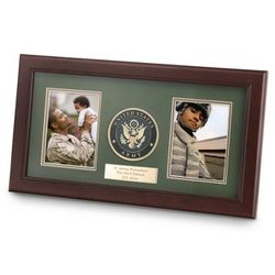 United States Army Dual Picture Frame