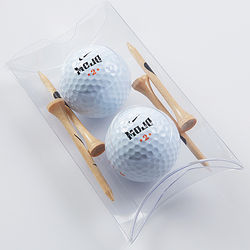 Mojo Golf Ball and Tee Pillow Pack
