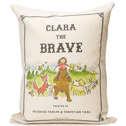 Personalized Brave Storybook Pillow