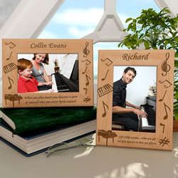 Personalized Piano Wooden Picture Frame