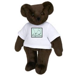 """15"""" Capricorn Astrological Cartoon T-Shirt Teddy Bear"""