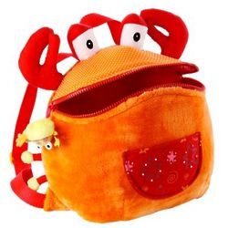 Children's Plush Oscar Backpack