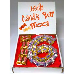 16th Birthday Candy Bar Pizza