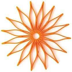 Orange Blossom Trivet