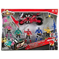 Power Rangers Samurai Team Action Figures