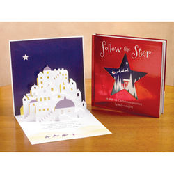 Follow the Star Pop-Up Christmas Journey Book