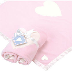 Hugs and Hearts Personalized Baby's Blanket