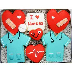 Nurse Appreciation Cookie Tin