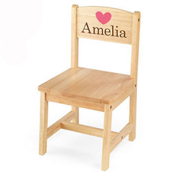 Personalized Aspen Kid's Chair