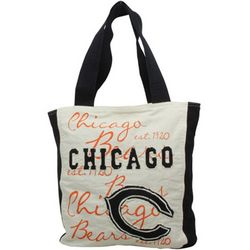 Chicago Bears Reverse Applique Tote