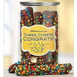 Three Cheers Congrats! Mini Pretzels in a Can