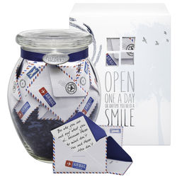 Special Delivery Jar of Messages in Mini Envelopes